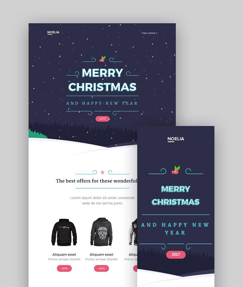 Christmas Templates For Mailchimp