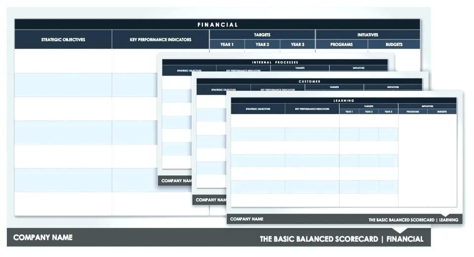 Company Dashboard Template Excel