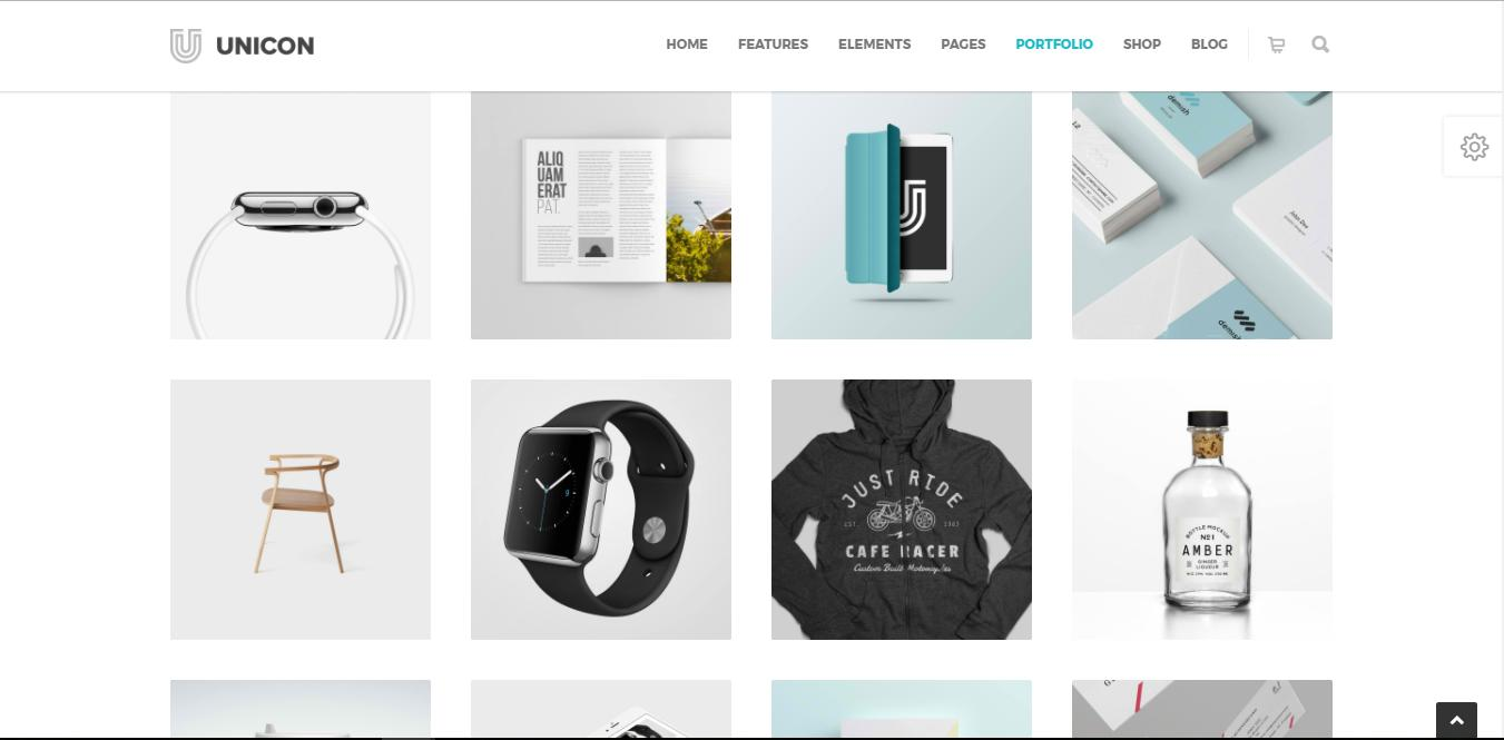 Designer Portfolio Wordpress Templates