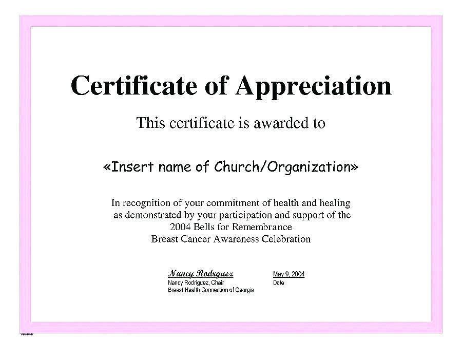 Distinguished Service Award Certificate Template