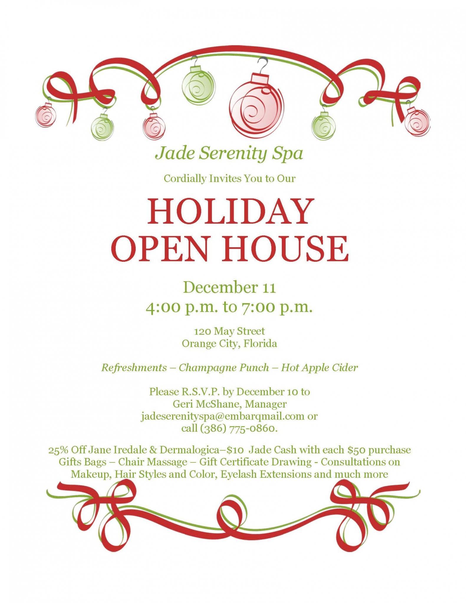 Elegant Holiday Invitation Templates