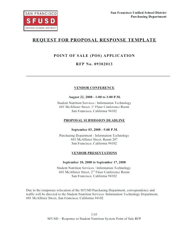 Event Rfp Example