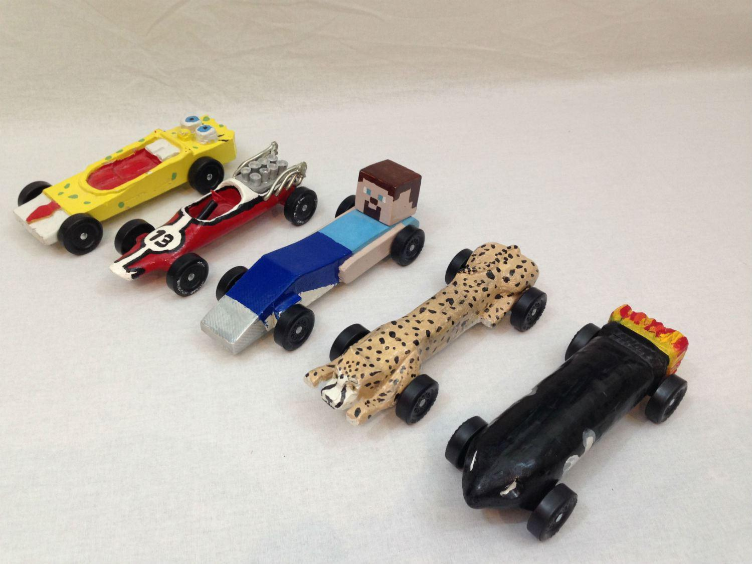 Fastest Pinewood Derby Cars Templates