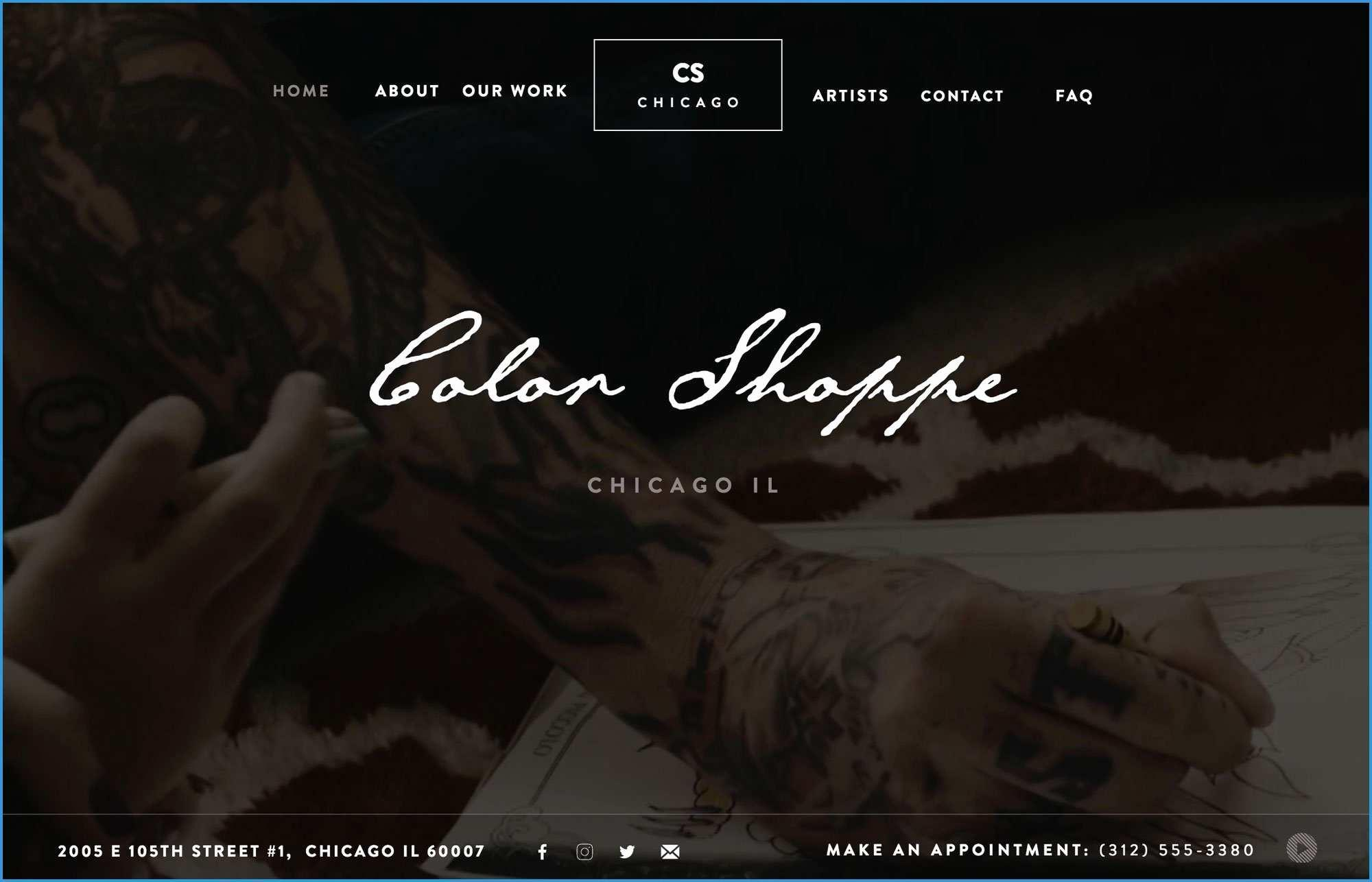 Free Adobe Muse Templates For Photographers
