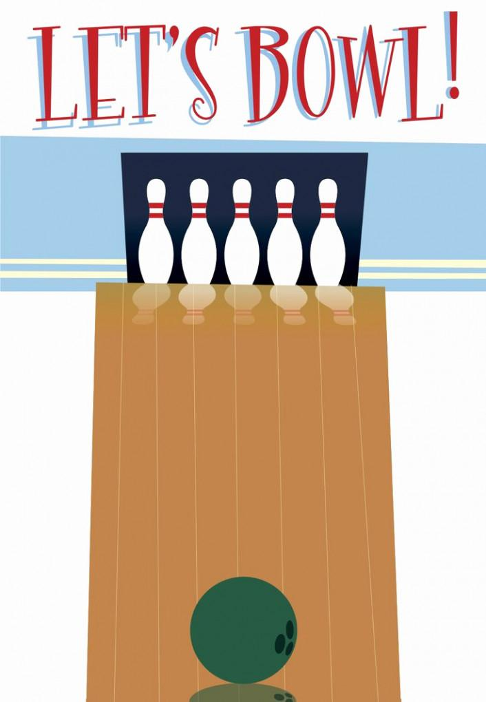 Free Bowling Party Invitation Templates