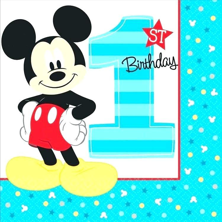 Free Diy Mickey Mouse Invitation Template