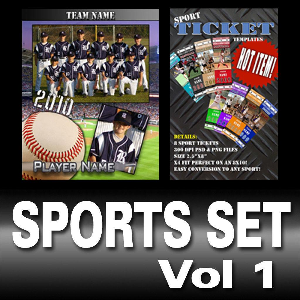 Free Photoshop Sports Templates For Photographers