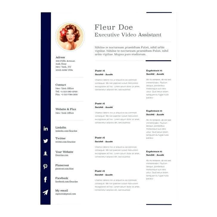 Free Resume Templates 2 Pages