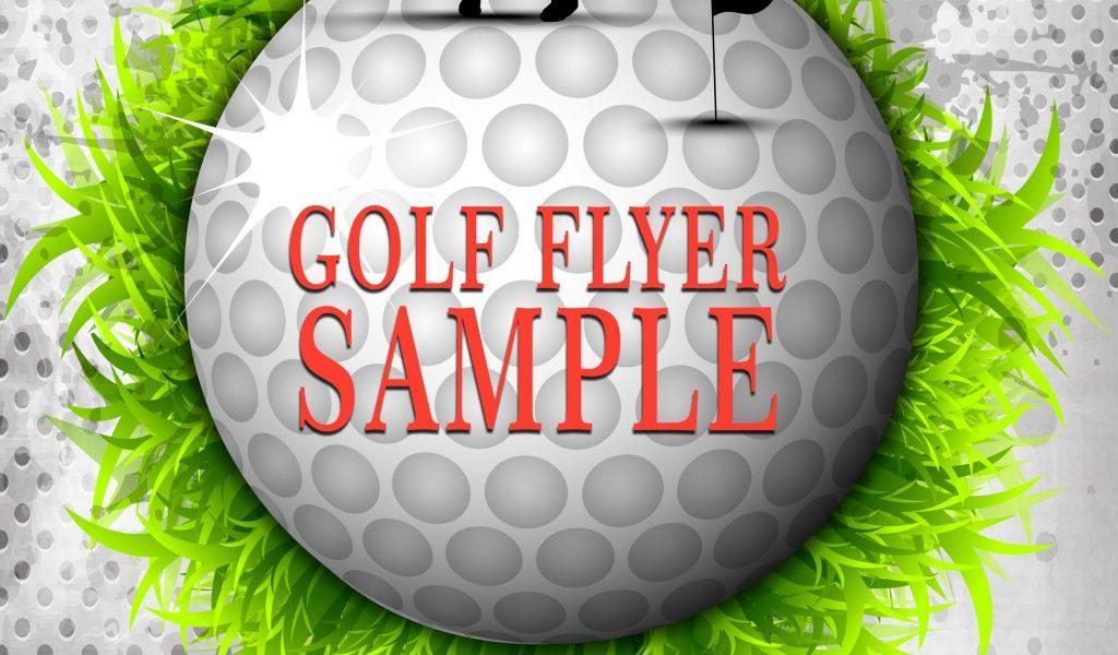 Golf Tournament Flyer Samples