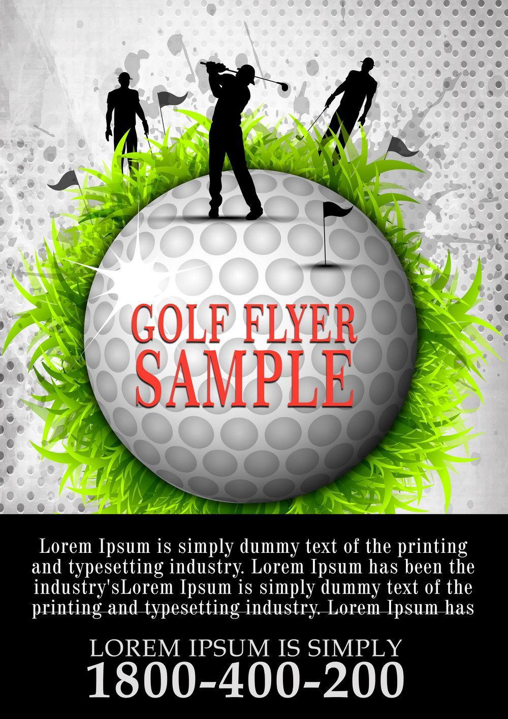 Golf Tournament Flyer Template Download