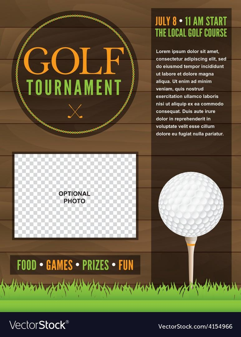 Golf Tournament Flyer Templates Free
