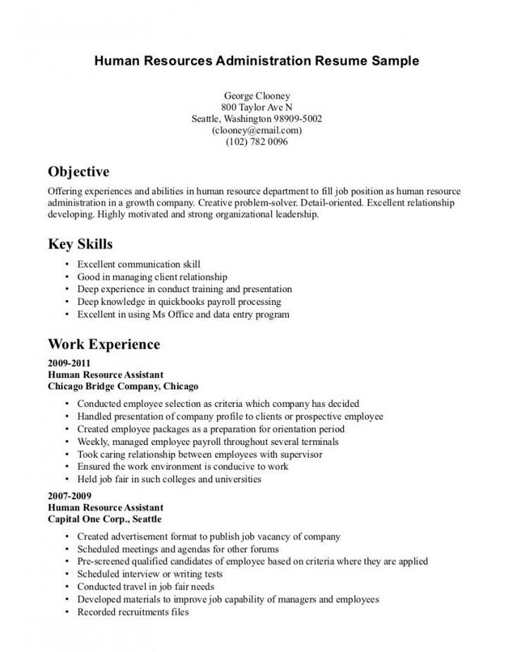 Good Resume For No Experience