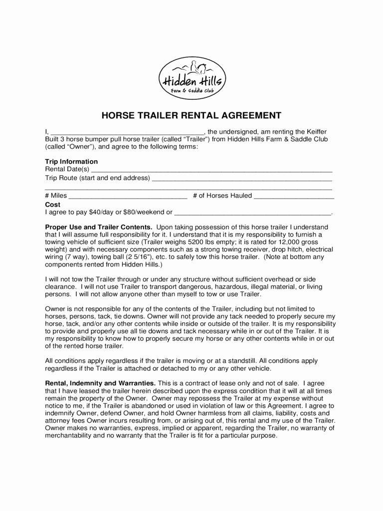 House Rental Contract Template Uk