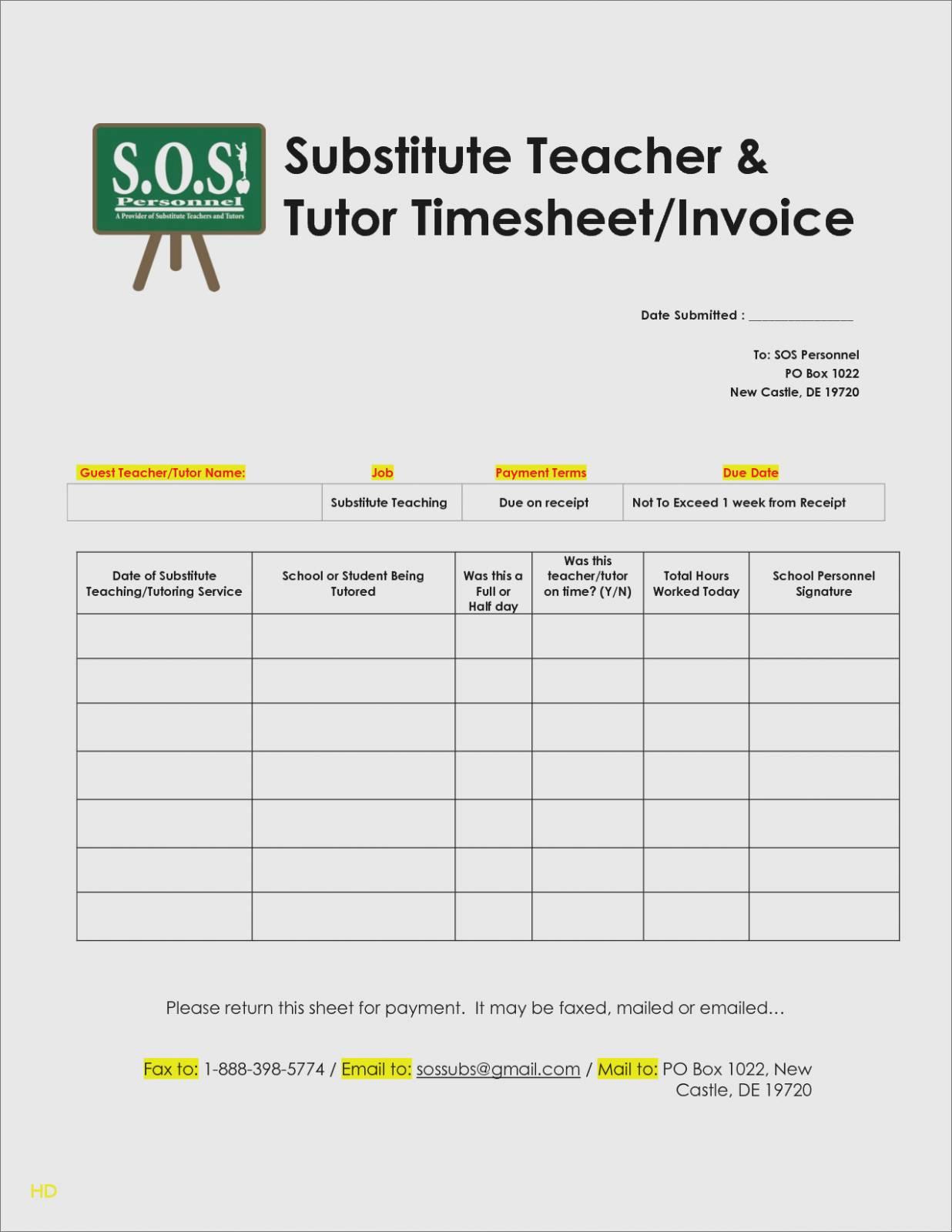 Invoice Template Word Google Docs