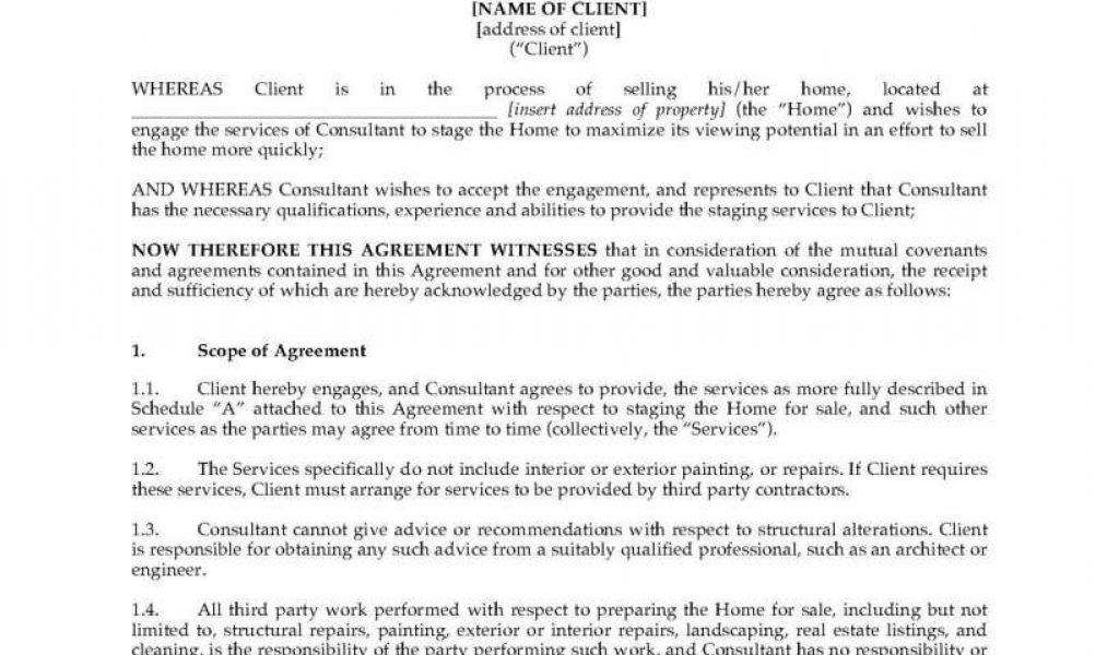 Labor Services Contract Template