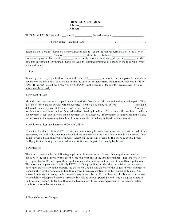 Landlord Tenant Agreement Template Ontario