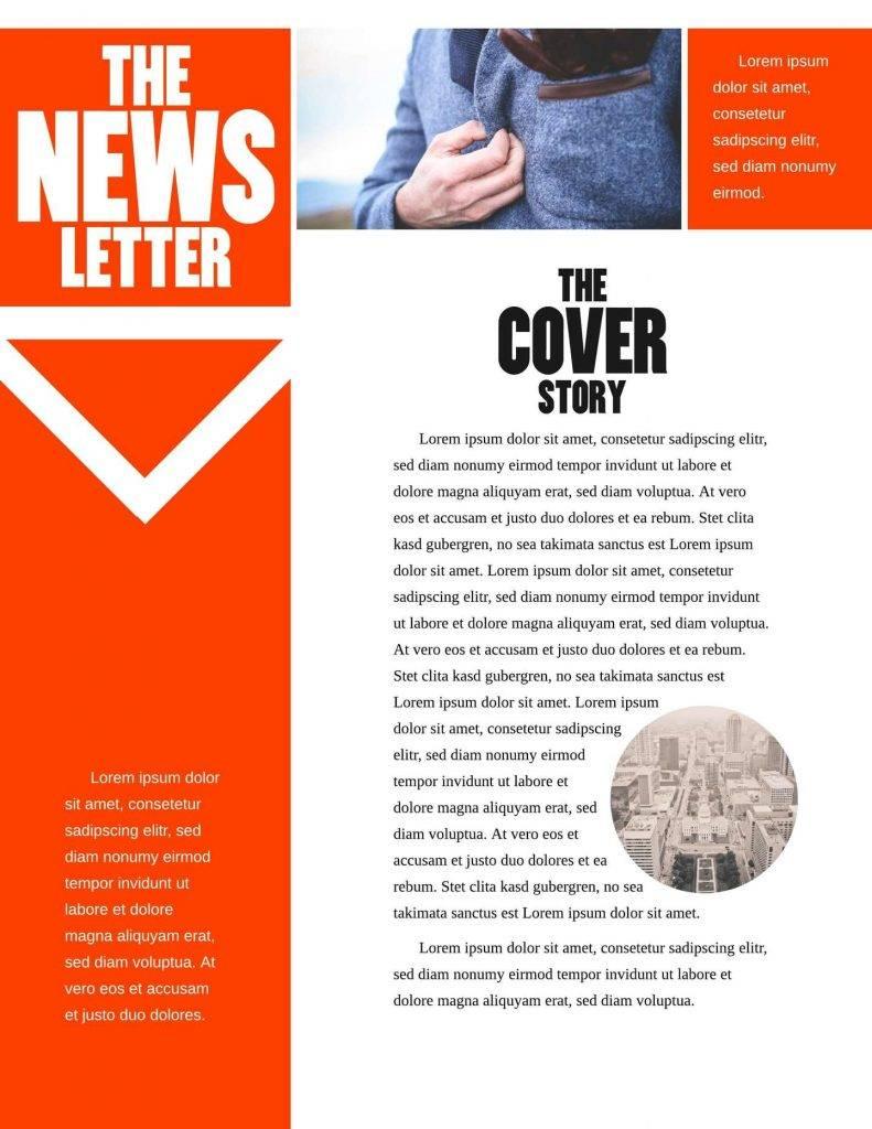 Mailchimp Newsletter Template Wordpress