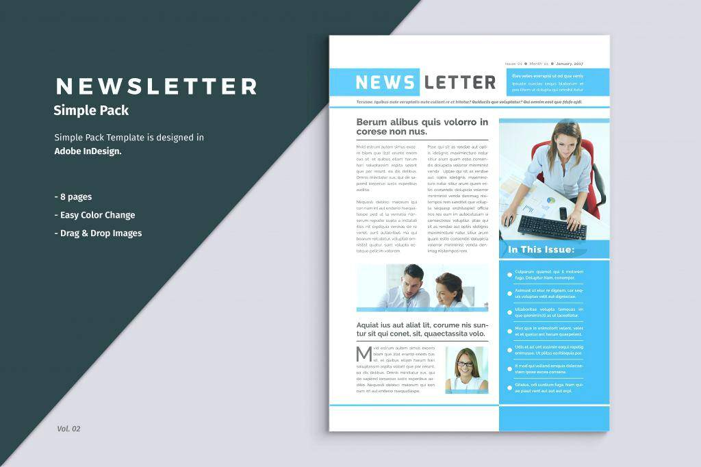 Microsoft Publisher 2010 Newsletter Templates Free Download