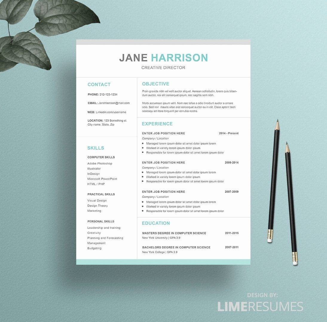 Pages Resume Templates Free Download