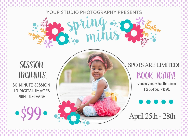 Photoshop Marketing Templates For Photographers