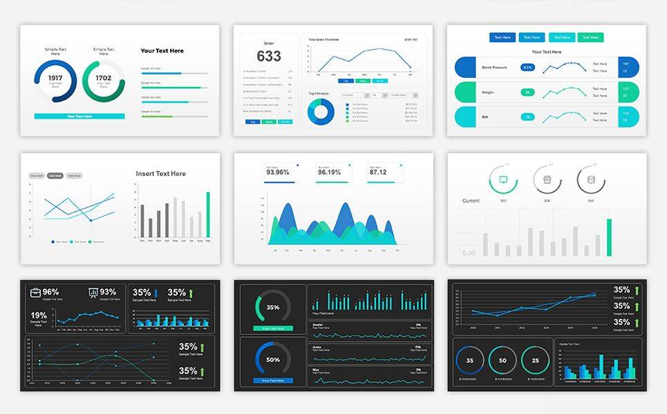Powerpoint Dashboard Examples