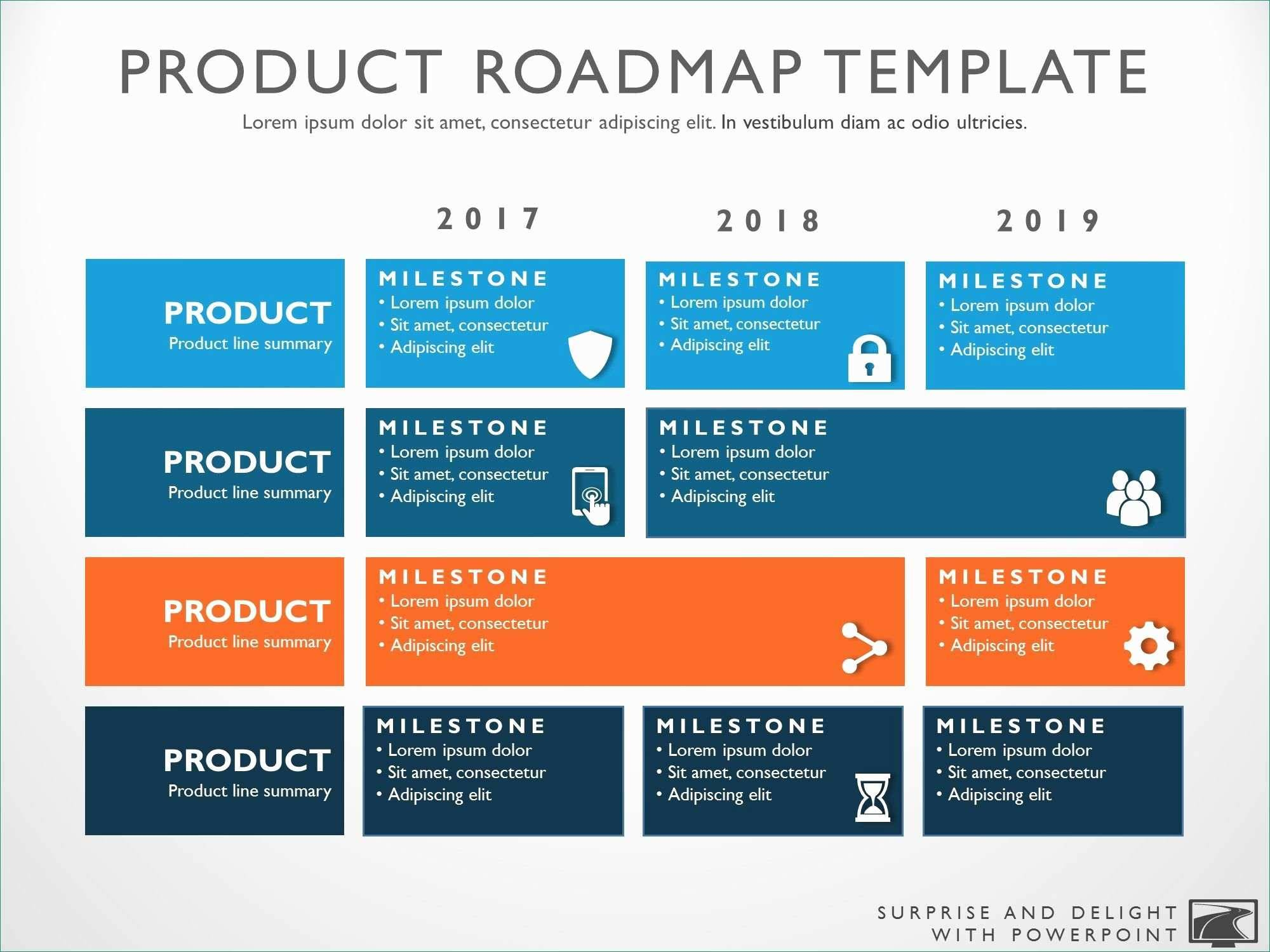 Powerpoint Roadmap Timeline Template Free