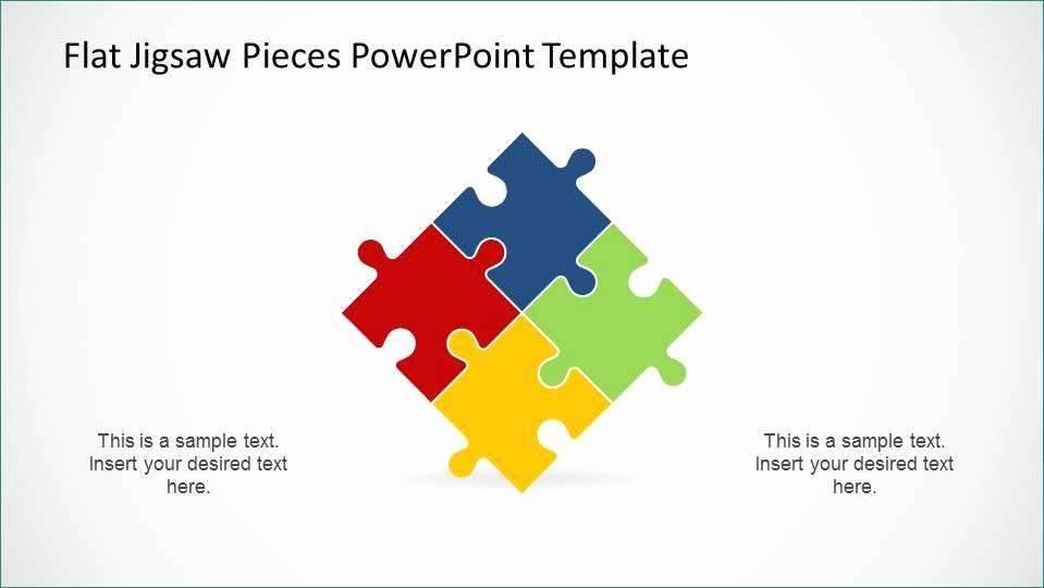 Powerpoint Smartart Templates Puzzle