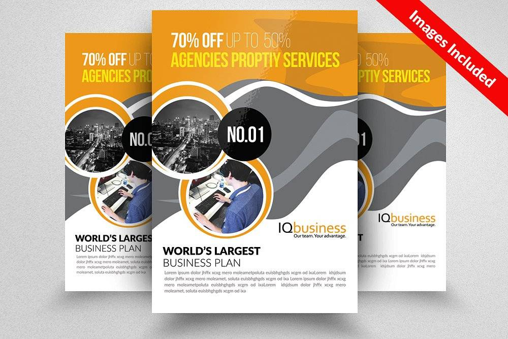 Professional Business Flyer Templates Free