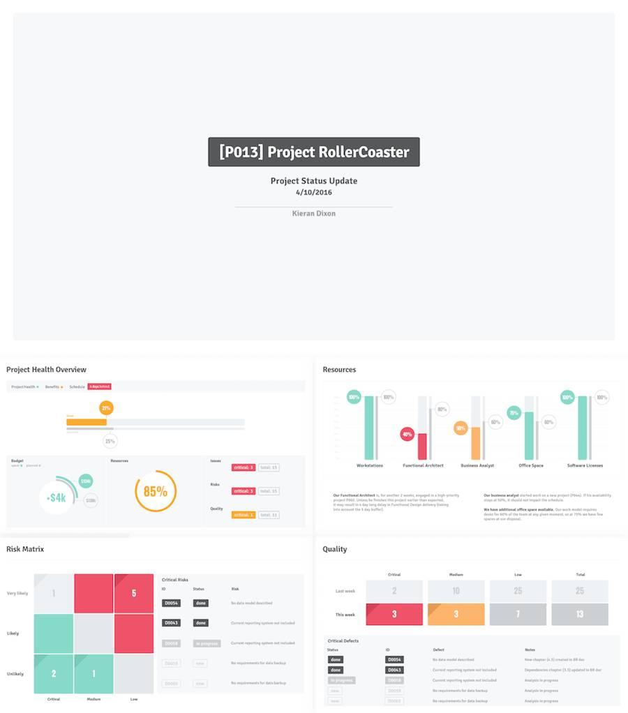 Project Management Ppt Templates