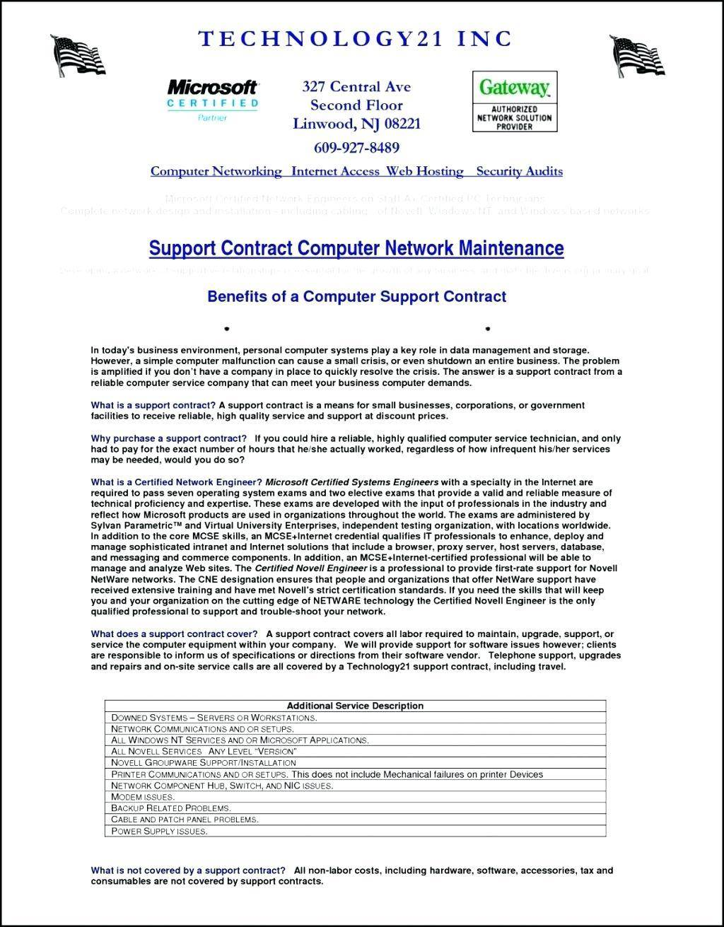 Rental Contract Template Bc