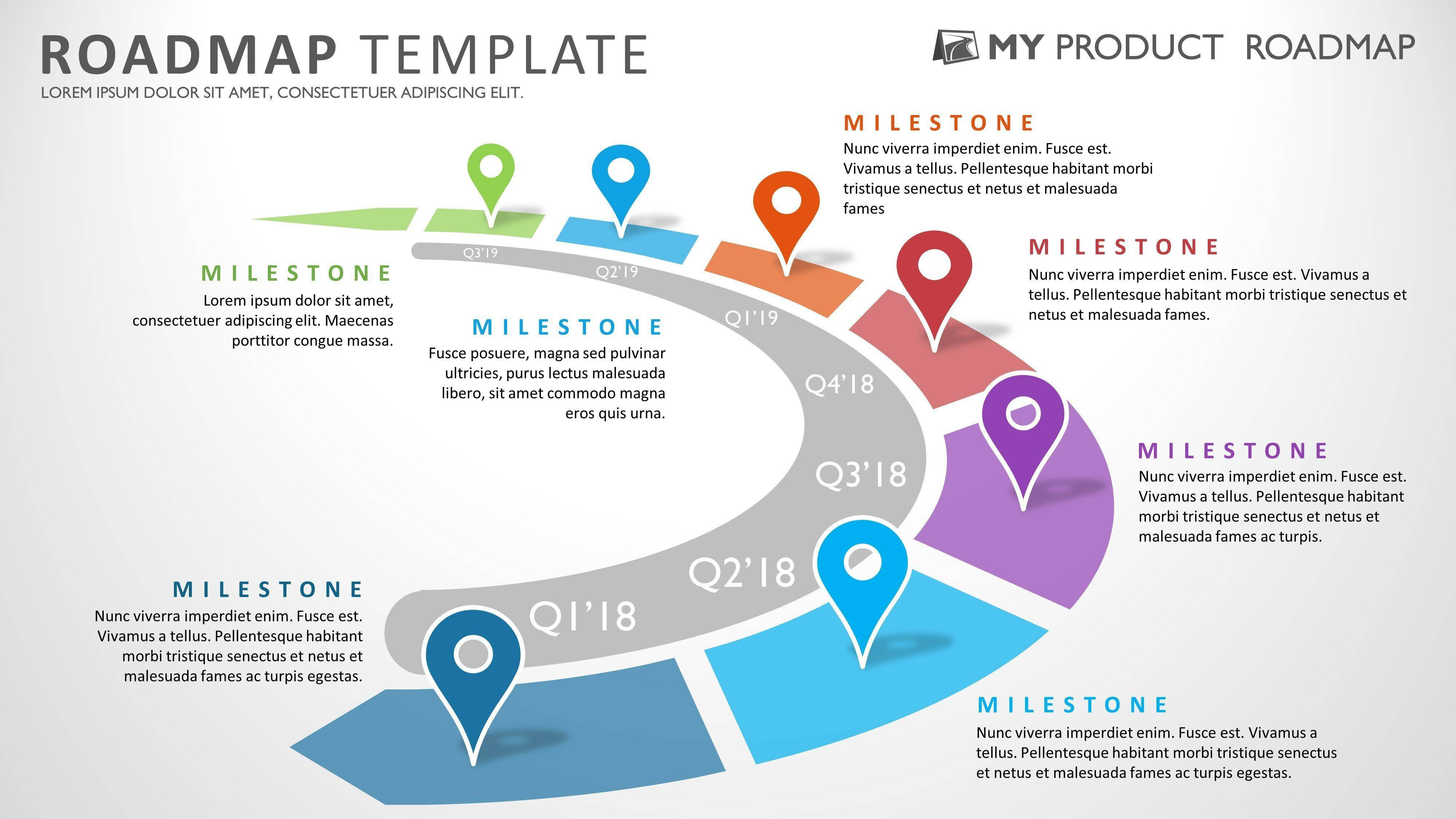 Roadmap Template Powerpoint Ppt