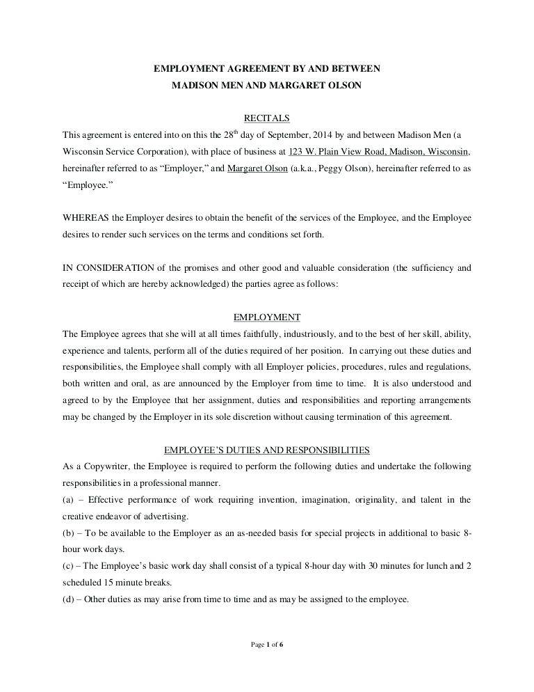 Sample Termination Of Employment Contract Philippines