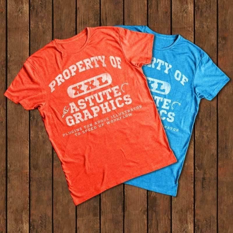 T Shirt Printing Template Ai