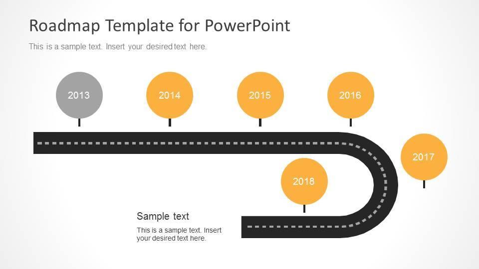 Timeline Roadmap Powerpoint Template