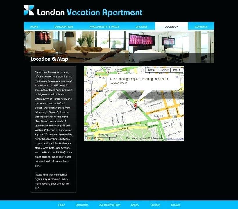 Vacation Rental Website Templates Download