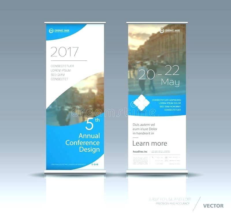 Vertical Banner Template Adobe Illustrator