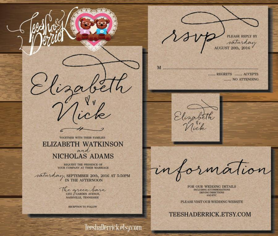Wedding Rsvp Message Template