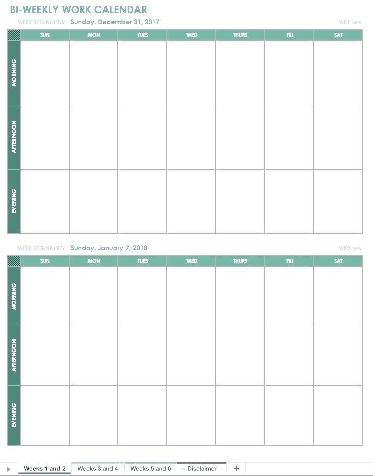 Yearly Event Planner Excel Template
