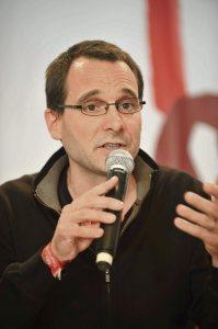 fete humanite 2014 - vendredi 21 septembre - Forum social, les enjeux de la metropole, du grand Paris et dela reforme territoriale.Baptiste Talbot - Julien Jaulin