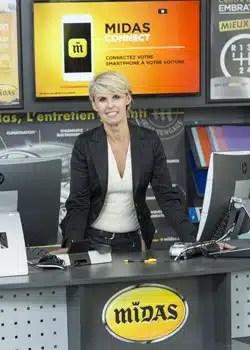 Isabelle Mirocha, Responsable du recrutement des franchisés Midas