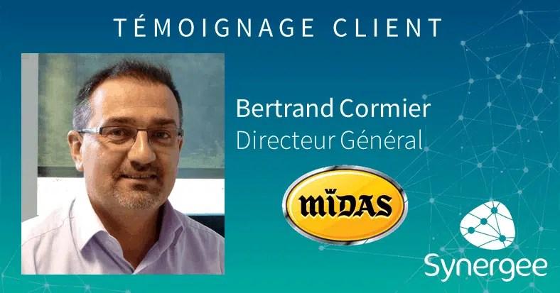 Témoignage de Bertrand Cormier, Directeur Général de Midas