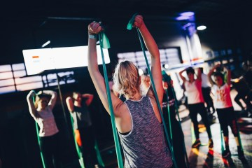 avoid germs while working out