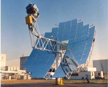 Solar Stirling Dish System