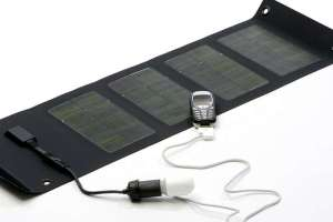 Portable PV for phone charging