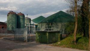 Bio Gas Plant on a Farm