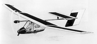 Solar Challenger, the first long distance solar plane