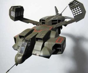Dropship model shown in Aliens (1986) UD-4L Cheyyenne