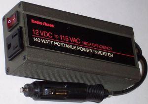 12 Volt Portable Inverter for Car