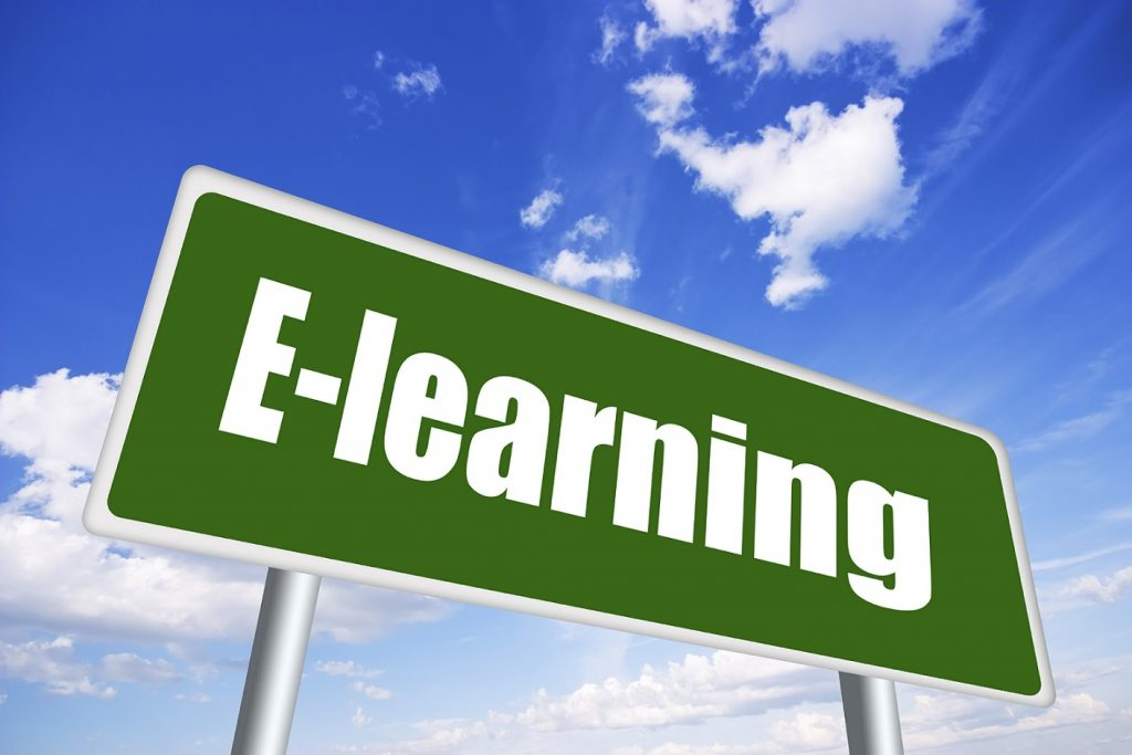 E Learning Signboard