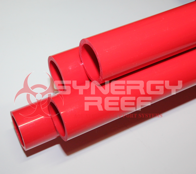 Red 1.5 inch pvc pipe